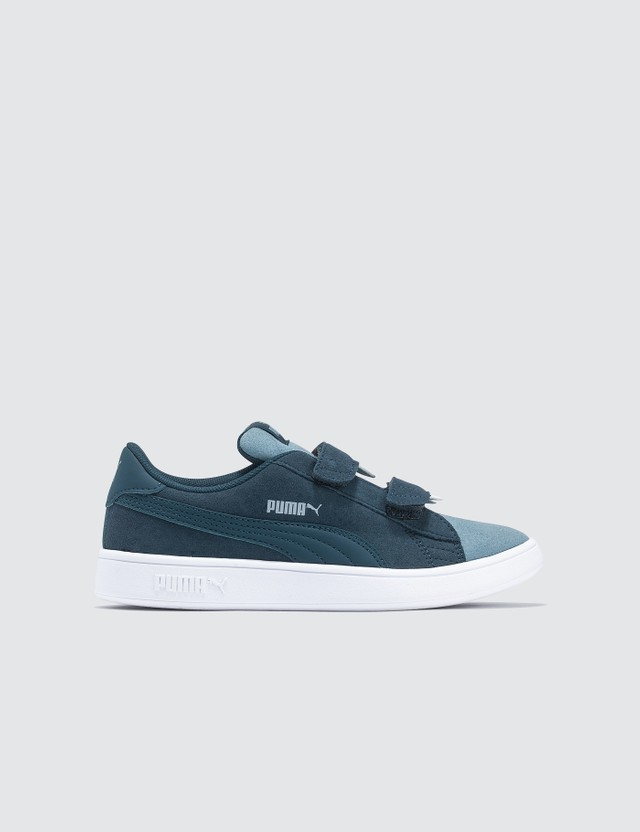 Puma Kids Smash V2 Monster V (Kids) Sea-faded Denim Kids