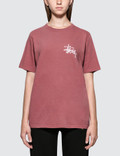 Stussy Basic Logo Pig Dyed. Short Sleeve T-shirt Picture