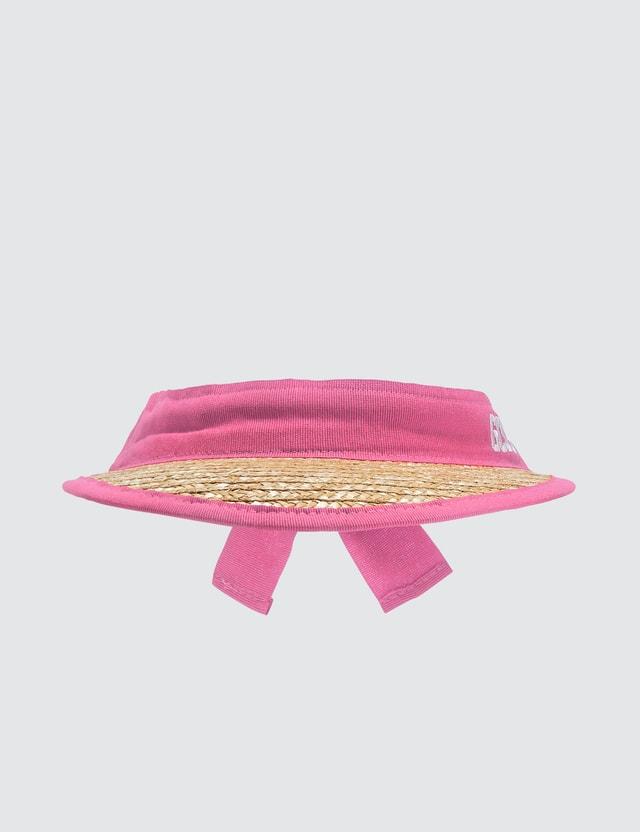 GCDS Straw Fluo Cap