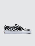 Vans Overprint Check Classic Slip-on Picture