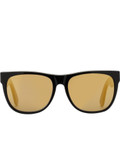 Super By Retrosuperfuture Classic Black 24k Sunglasses Picutre