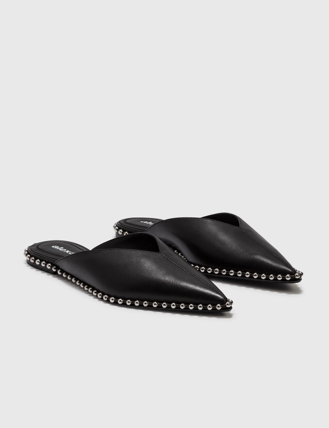 Alexander Wang Mira Flat Slide Black Women