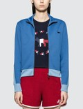 Maison Kitsune Technical Zipped Sweatshirt Jacket Picutre