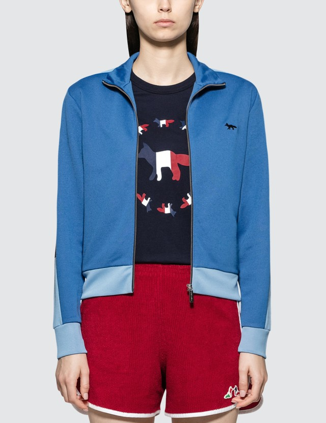Maison Kitsune Technical Zipped Sweatshirt Jacket