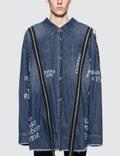Faith Connexion Zip Detail Long Zip Overshirt Picture