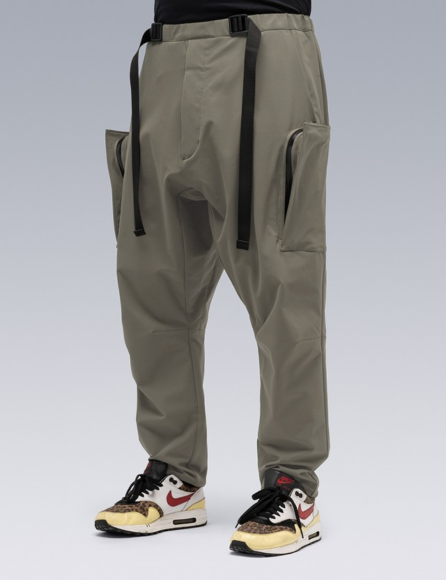 ACRONYM Schoeller Dryskin Drawcord Cargo Trouser Alpha Green Men