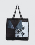 Black Scale Landscape Tote Bag Picutre
