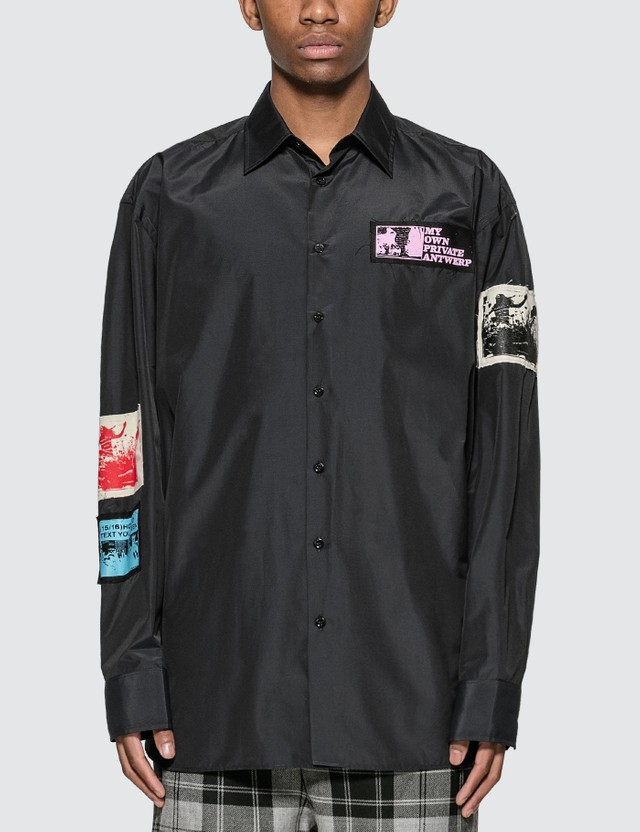 Raf Simons Oversized Shirt With Patches
