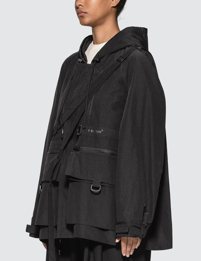 Hyein Seo Anorak With Detachable Bag