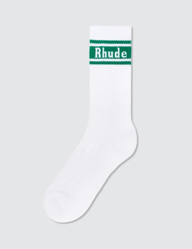 Rhude Stripe Socks