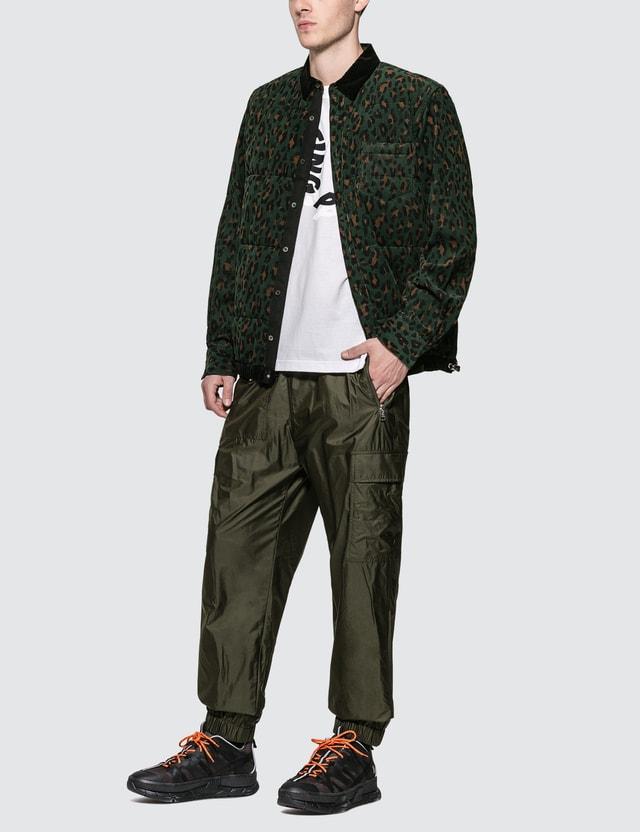 Sacai Leopard Print Shirt Jacket