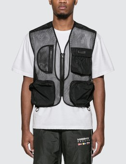 Misbhv The Transparent Black Hunter Vest