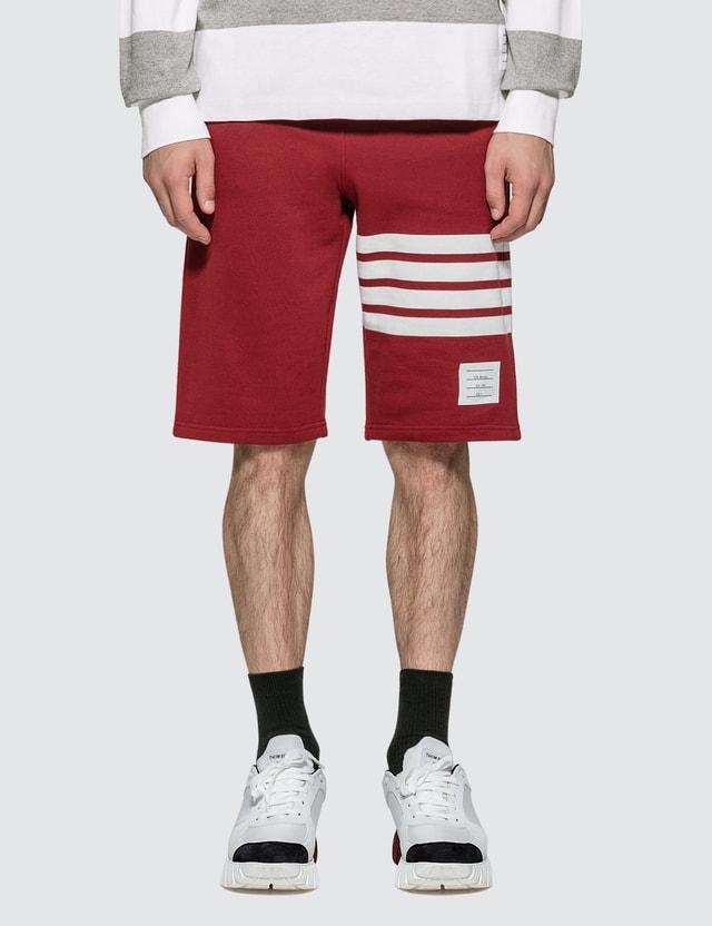 Thom Browne Classic 4-Bar Sweat Shorts