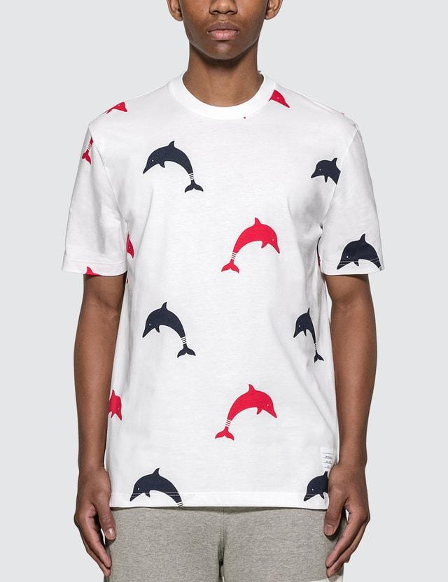 Thom Browne Dolphin Print T-Shirt