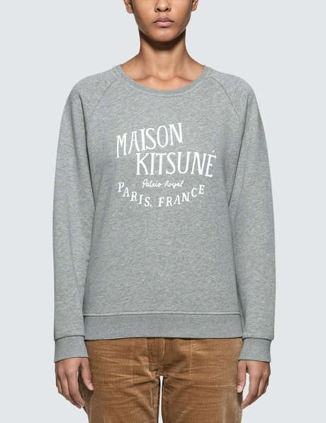 메종 키츠네 Maison Kitsune Parisienne Sweatshirt