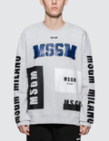 MSGM Multi Logo Sweatshirt Picture