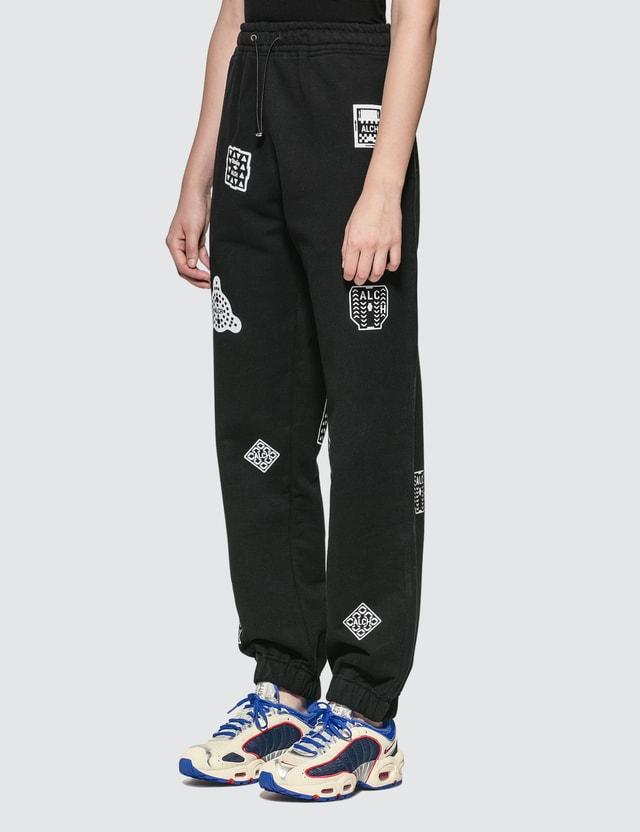 ALCH Logo Print Sweatpants