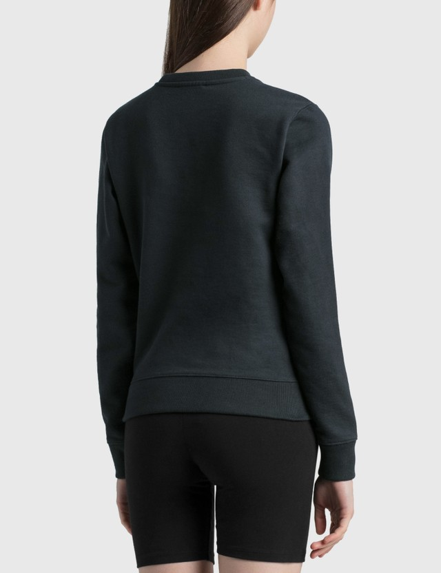 Maison Kitsune Varsity Fox Regular Sweatshirt Dark Navy Dn Women