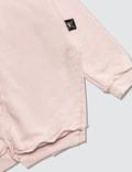 NUNUNU Quilt Hoodie Pink Kids