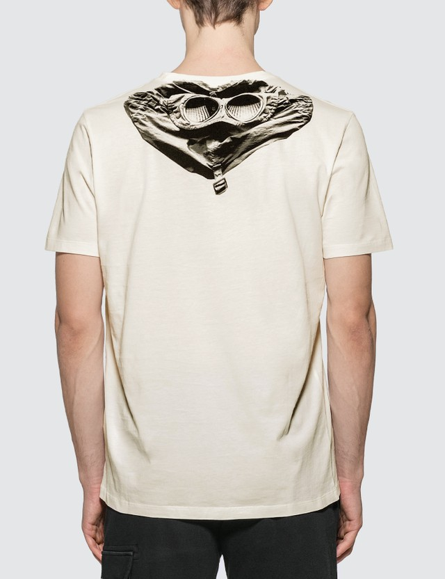 CP Company Goggle Hood Graphic Print T-Shirt
