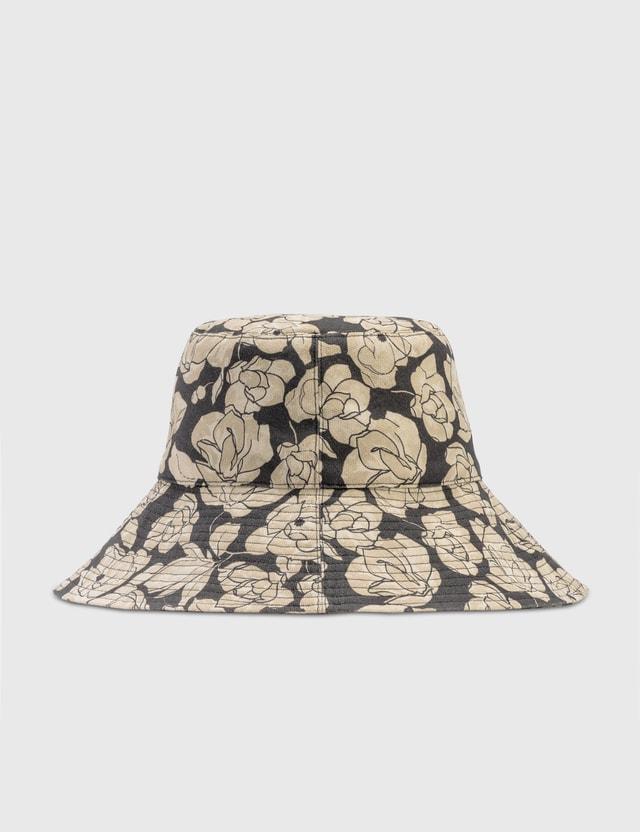 Nanushka Serge Cotton Hat Porcelain Rose Women