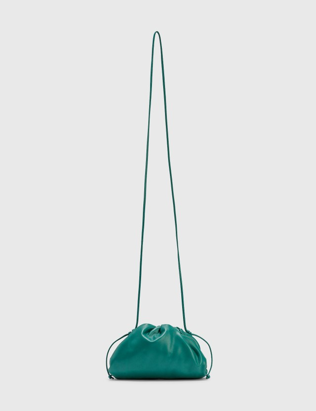 Bottega Veneta The Mini Pouch Mallard-gold Women
