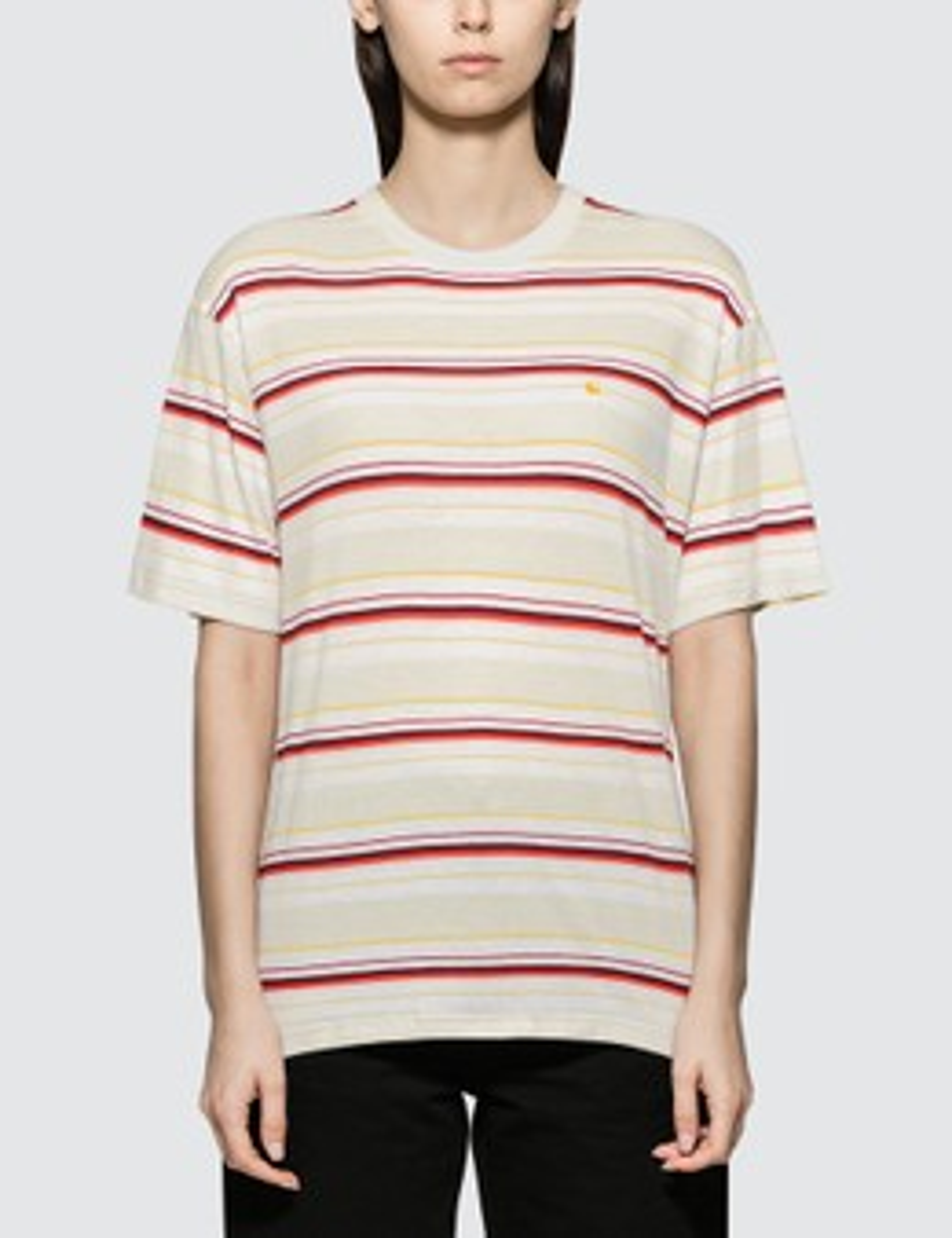 CARHARTT   Carhartt Work In Progress Riverside Short Sleeve T-shirt   Goxip