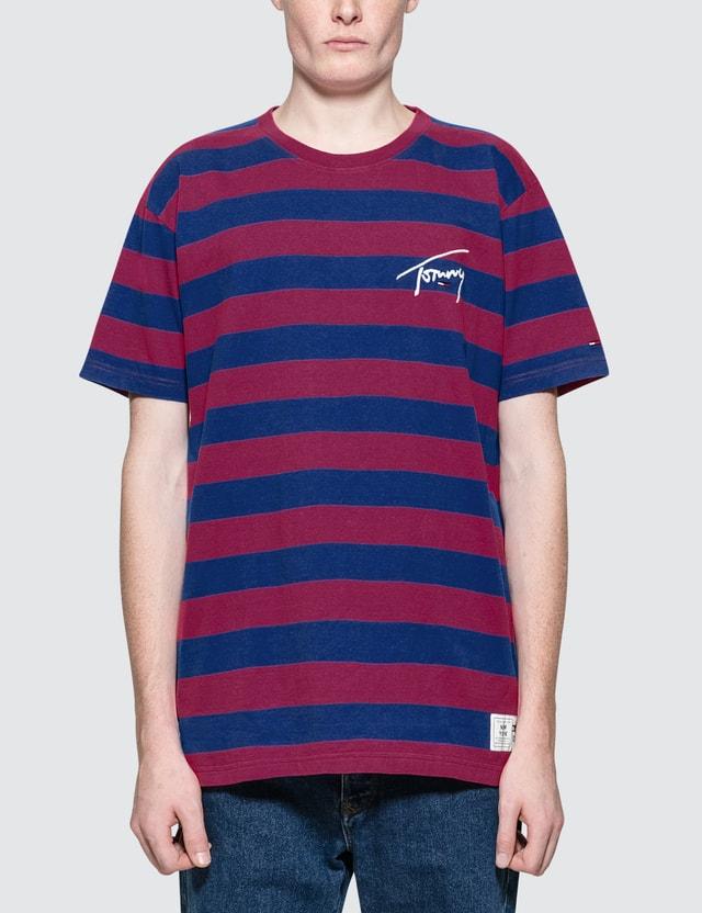 23a9e6f2 Tommy Jeans - Tommy Signature Stripe S/S T-Shirt | HBX