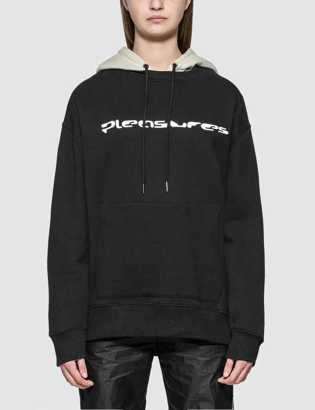 Pleasures Hard Drive Crewneck With Hoody