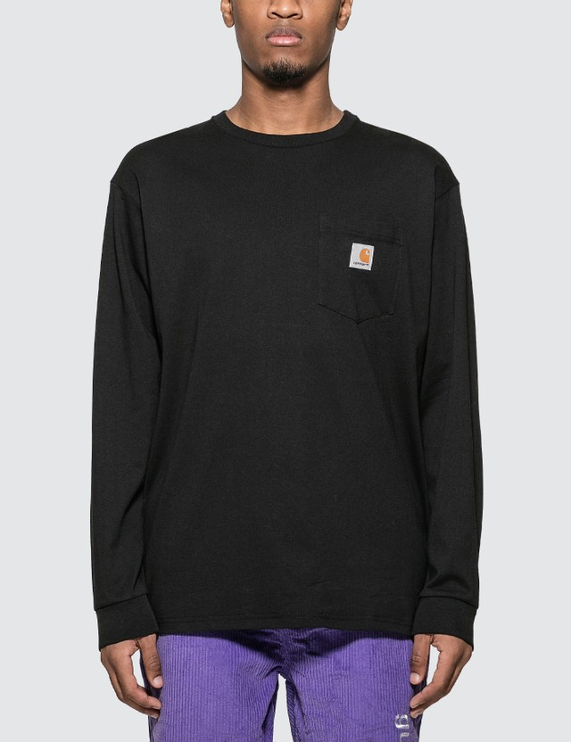 Carhartt Work In Progress Chest Pocket Long Sleeve T-Shirt