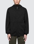 CP Company Diagonal Raised Fleece Zip Hoodie Picture
