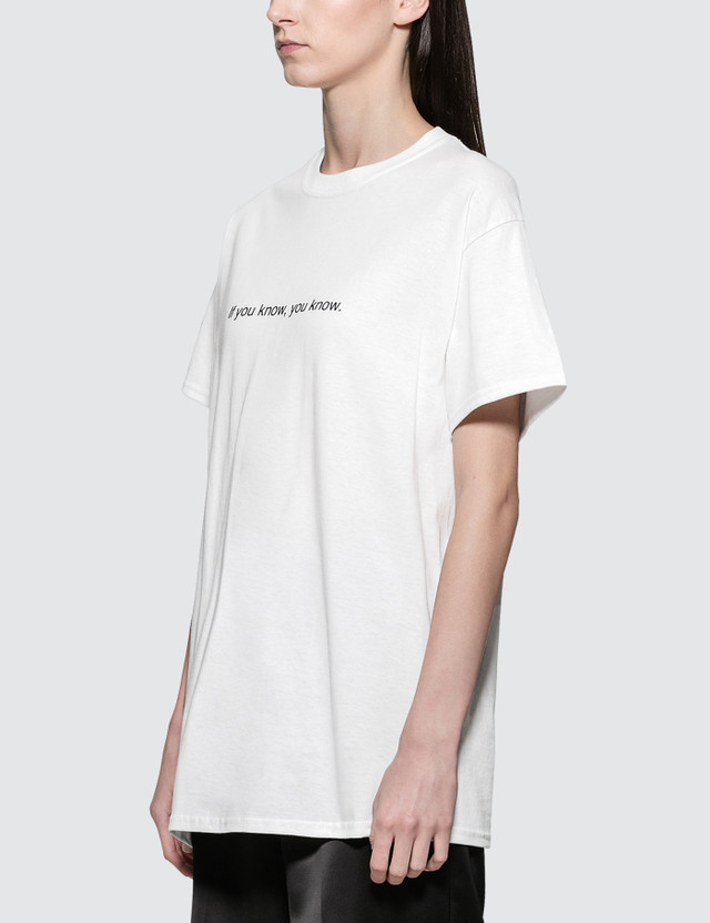 Fuck Art, Make Tees If You Know, You Know. Short Sleeve T-shirt