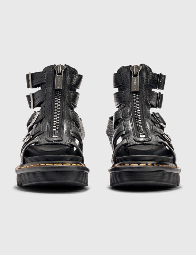 Dr. Martens Olson Leather Sandal Black Women