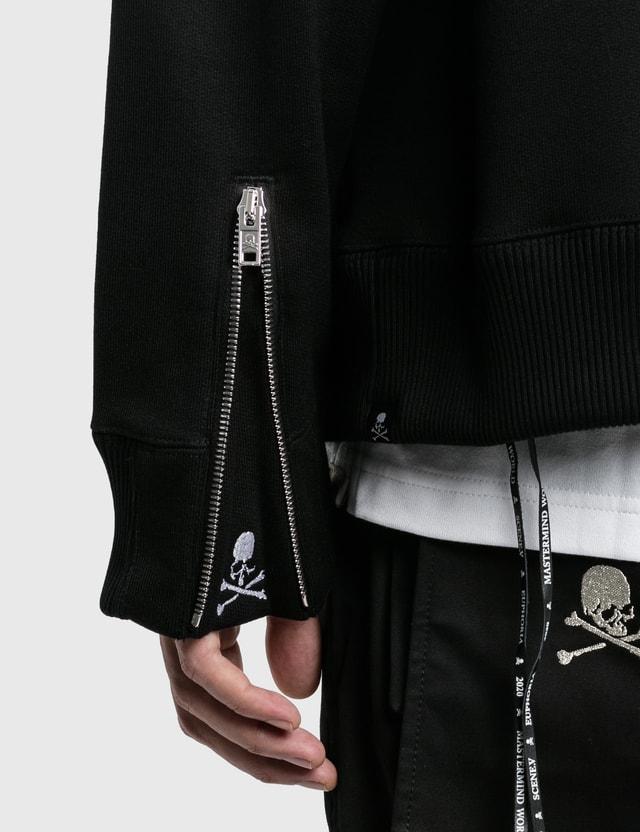 Mastermind World Sequins Zip Up Hoodie Black Men