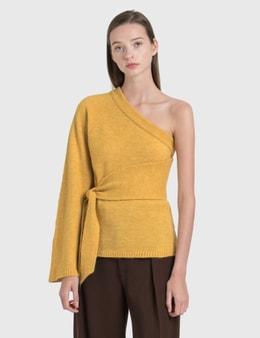 Nanushka Cleto Cold Shoulder Knit Pullover