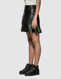 Ganni Rhinehart Leather Skirt