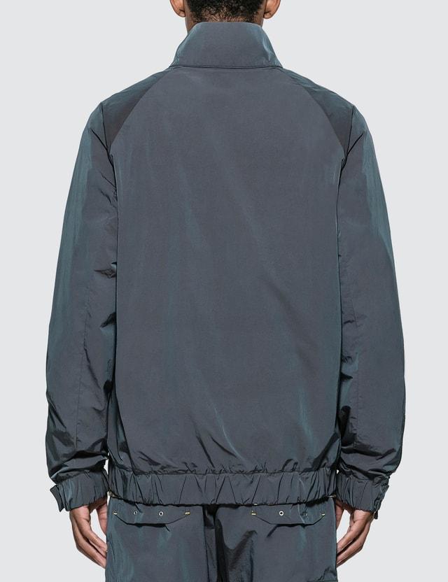 John Elliott CAT x John Elliott Iridescent Nylon Harrington Jacket