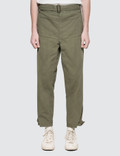 JW Anderson Garment Dyed Army Trousers Picture