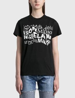Maison Margiela Distorted Logo T-shirt