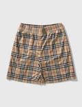 Burberry Debson Check Shorts Picutre