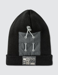 C2H4 Los Angeles Zip Pocket Patch Beanie