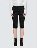 Helmut Lang Silm Cotton Shorts Picture