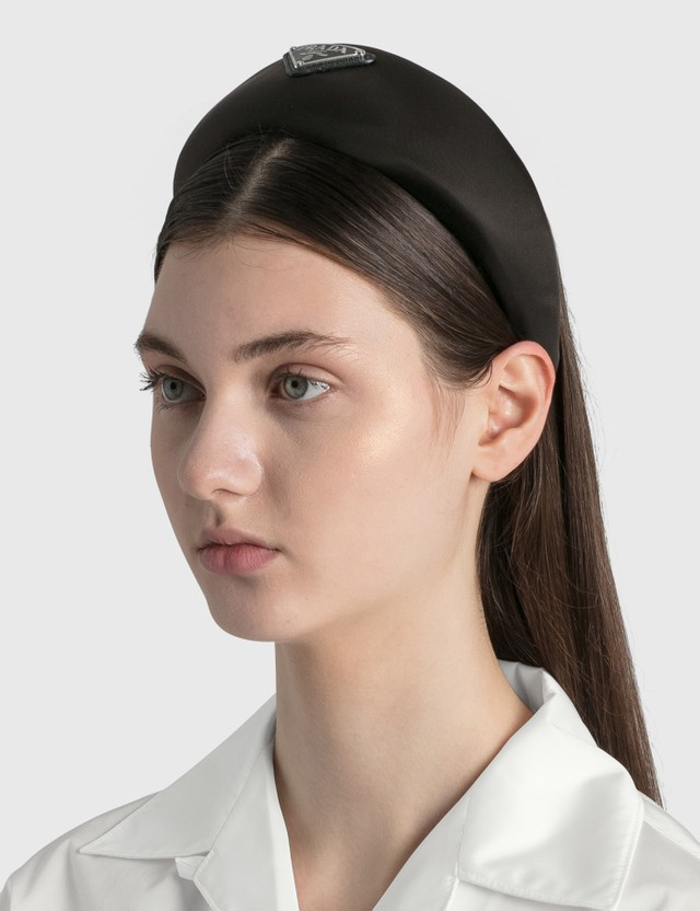 Prada Nylon Headband Nero Women