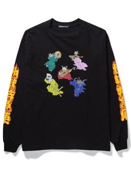 Flagstuff Cat Long Sleeve T-shirt