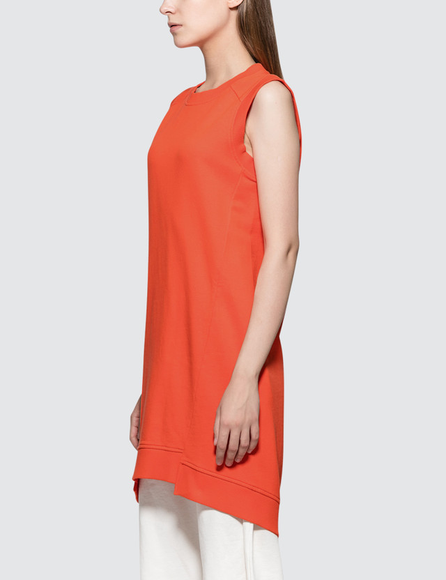 MM6 Maison Margiela Tank Dress Orange Women