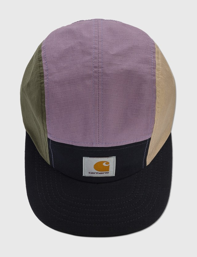 Carhartt Work In Progress Valiant 4 Cap Dark Navy / Provence / Leather / Cypress Men