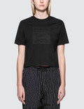 Calvin Klein Jeans Cropped Logo S/S T-Shirt Picture