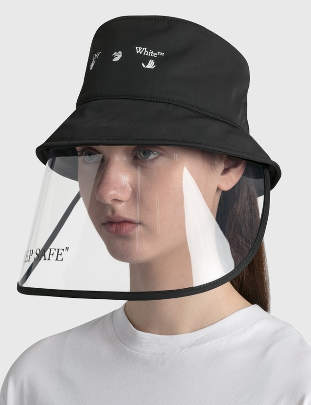 Off-White Mask Bucket Hat Black Women
