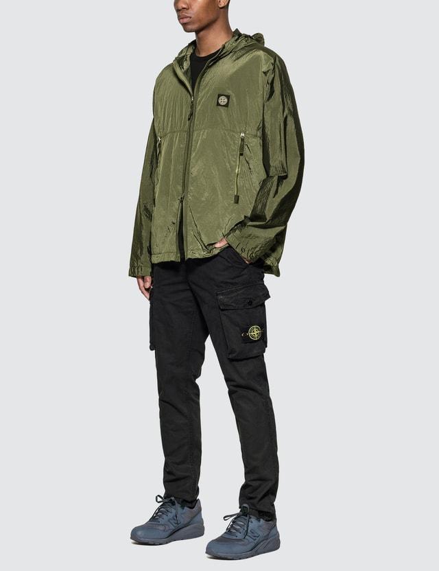 Stone Island Nylon Metal Watro Ripstop Hooded Jacket