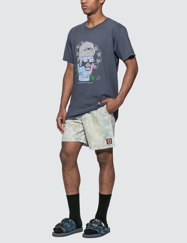 Brain Dead Marble Dye Beach Shorts